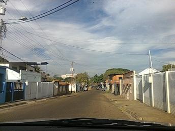 Calle Atascosa de Valle de la Pascua.