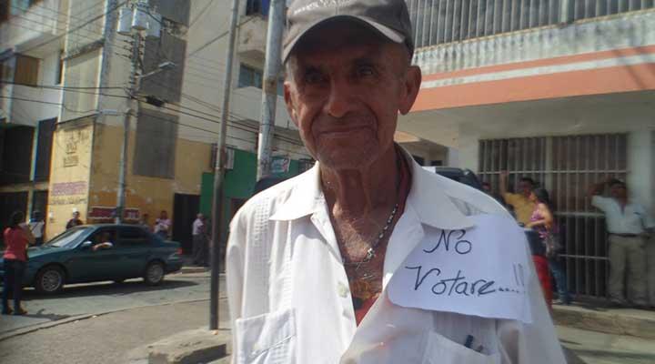 Aurelio Ramos yo asisto a la protesta por que estoy en contra de las malas acciones del gobierno
