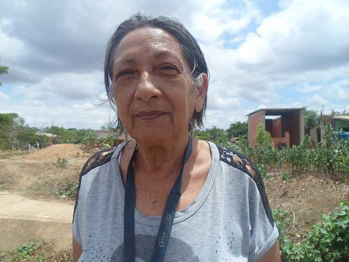 Carmen Rojas vivo en La Trinidad y me siento afectada