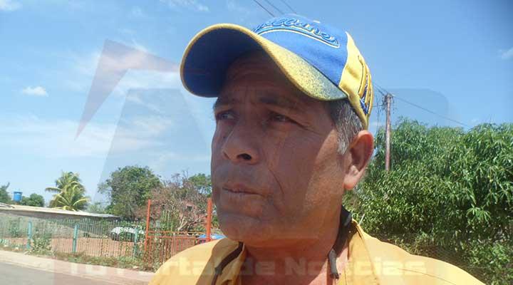 Francisco Arteaga detalló nuestra principal angustia es la falta de aguas blancas en la comunidad
