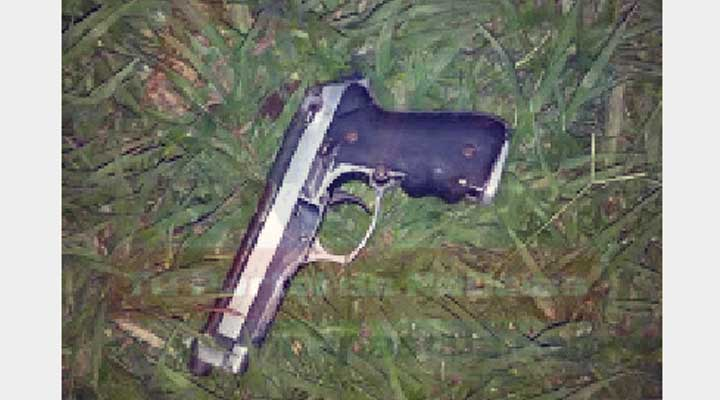Pistola, marca Beretta, modelo 92fs, seriales H71176Z, color plata.