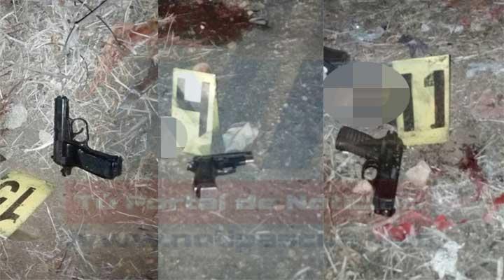 un arma de fuego, tipo pistola, marca Tanfoglio, color Negro, calibre 9mm, serial AB39687, un arma de fuego, tipo pistola, marca Brouning, modelo 83, color negro, calibre 9 mm, serial 50737 y un arma de fuego tipo pistola, marca Beretta, modelo 4TF, color negro, calibre 380, serial: E21605Y