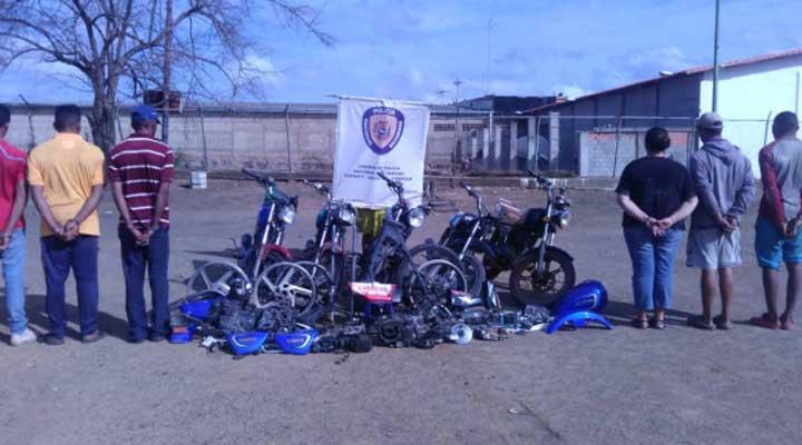 Desarticulada banda Los Burros Mojado quienes se dedicaban al robo de motos y posterior venta de sus partes