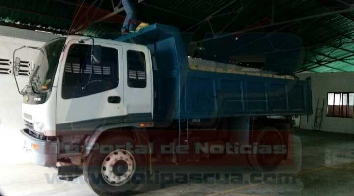 Camión cargado de alimentos fue retenido en San Juan de los Morros, dentro de un galpón clandestino.