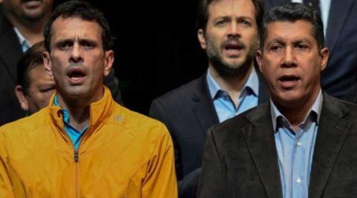 Henry Falcón indico que Capriles estará integrado en su Gabinete Presidencial.