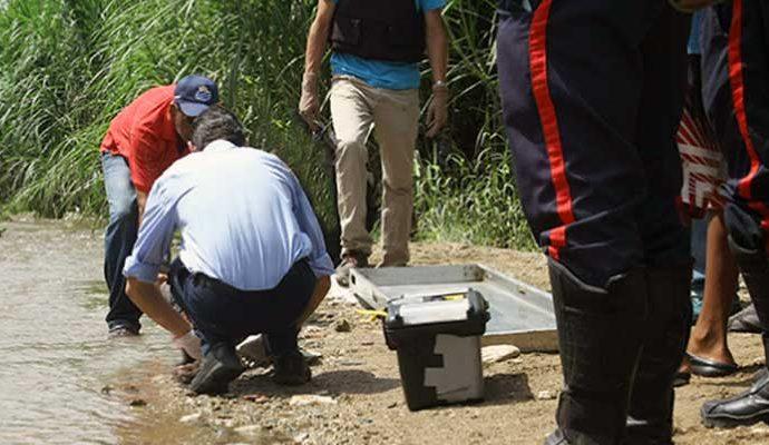 El cuerpo fue levantado por efectivos del Cicpc subdelegación Valle de la Pascua