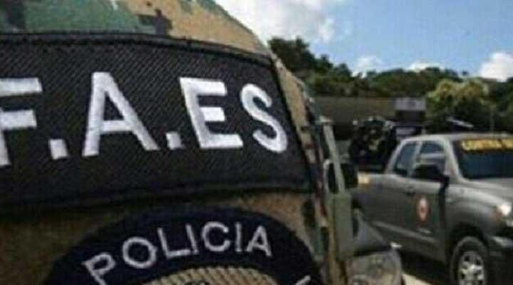 Efectivos del FAES abatieron un hombre en Calabozo. Foto referencia.