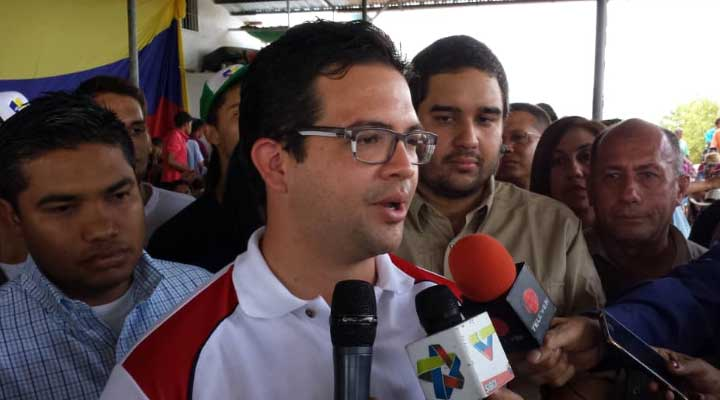 César Trómpiz. Rector de la Universidad Bolivariana de Venezuela (UBV).