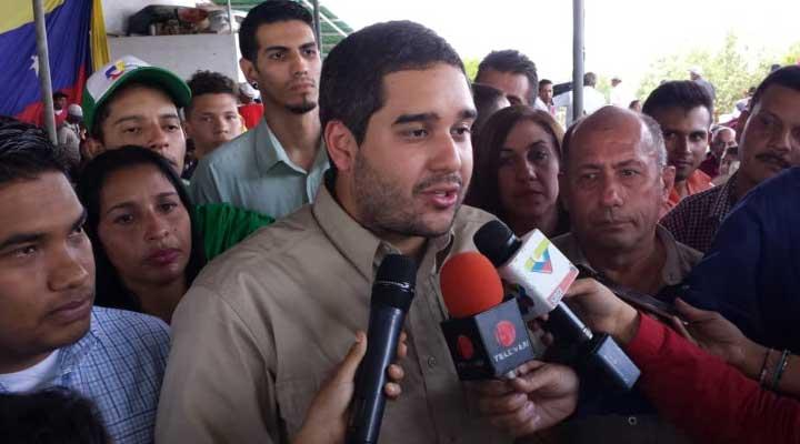 El constituyente Nicolás Maduro hijo.