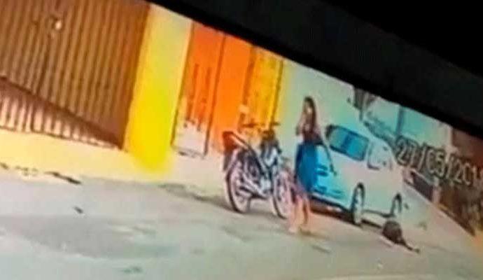 La mujer mató a su marido con un tiro en la cabeza luego de seguirlo hasta un hotel donde entraba con la amante.