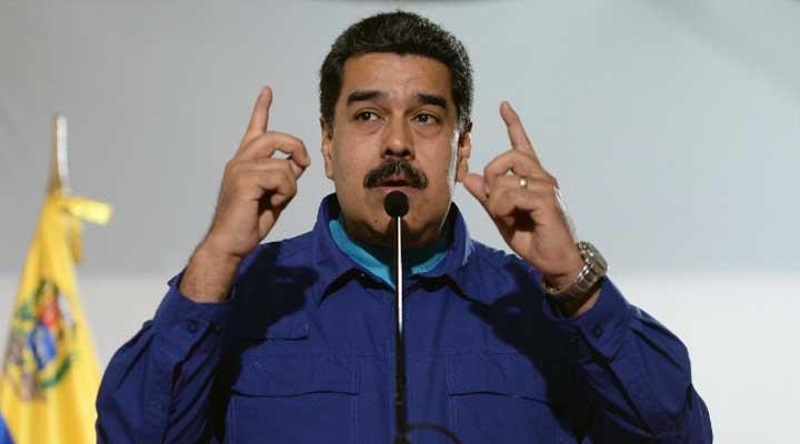 El presidente de Venezuela Nicolas Maduro busca la reelección en el medio de una crisis económica.