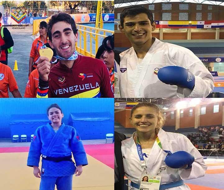 Atletas venezolanos recibieron medallas de Oro en los juegos Suramericanos Cochabamba 2018