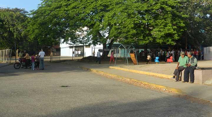 Escuela Básica Jose Manuel Fuentes Acevedo en Las Garcitas.