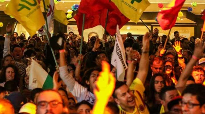 Colombianos salieron a votar y rompieron un récord en torno a las elecciones anteriores en participación.