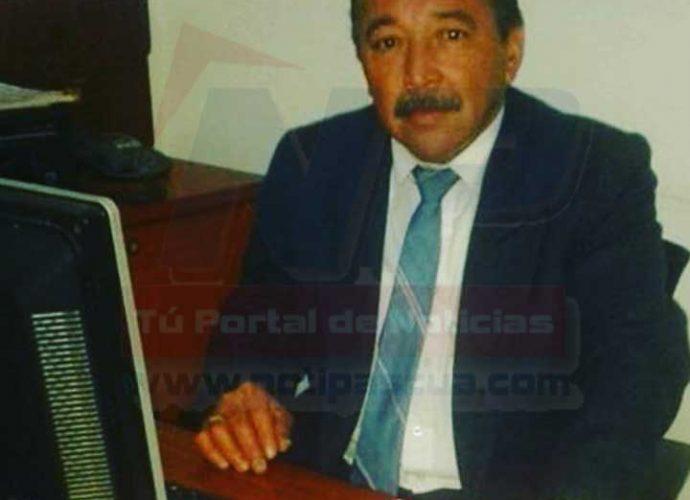 Ricardo Cesar Gómez Camacho de 54 años asesinado por sujetos en moto.