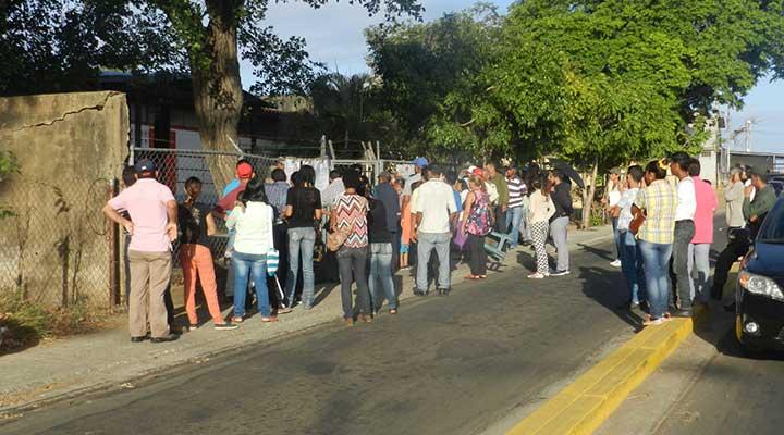 Preescolar Araguaney en la calle Real, salida a Tucupido