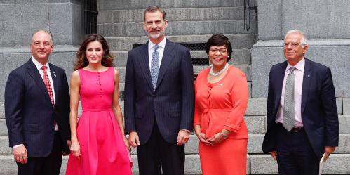Los Reyes en visita Oficial a EEUU