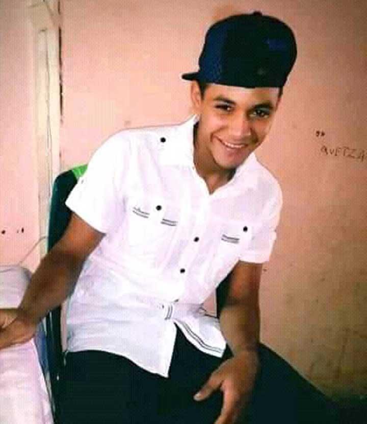 Omer Luis Diaz Azacon de 19 años, se enfrento a comisión mixta de Cicpc y PNB