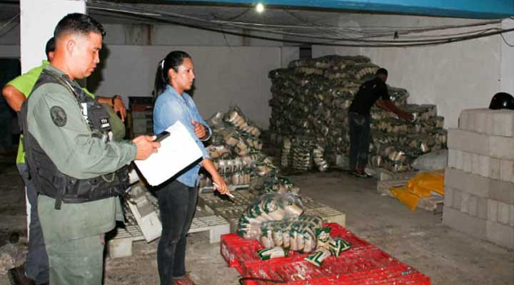La Guardia Nacional incauto 7 toneladas de arroz en Anzoategui