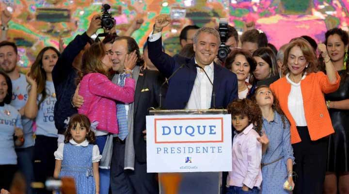 Ivan Duque es el nuevo presidente de Colombia.
