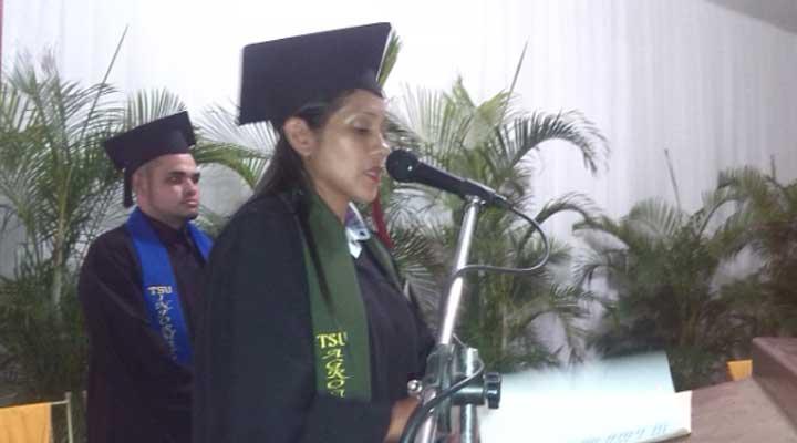 El acto tuvo lugar en el auditorio Monseñor Rafael Chacín Soto del Iutll