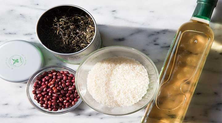 Prepara tus mascarillas y tónicos con ingredientes sencillos como el arroz y la cúrcuma