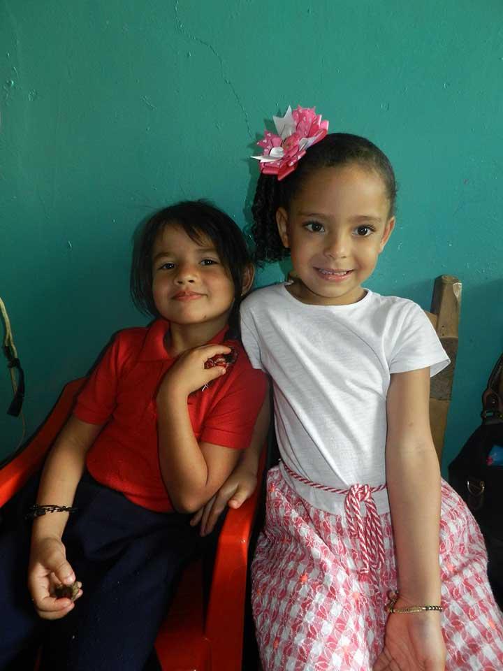 Pequeños del preescolar Luisa Julieta Hernandez