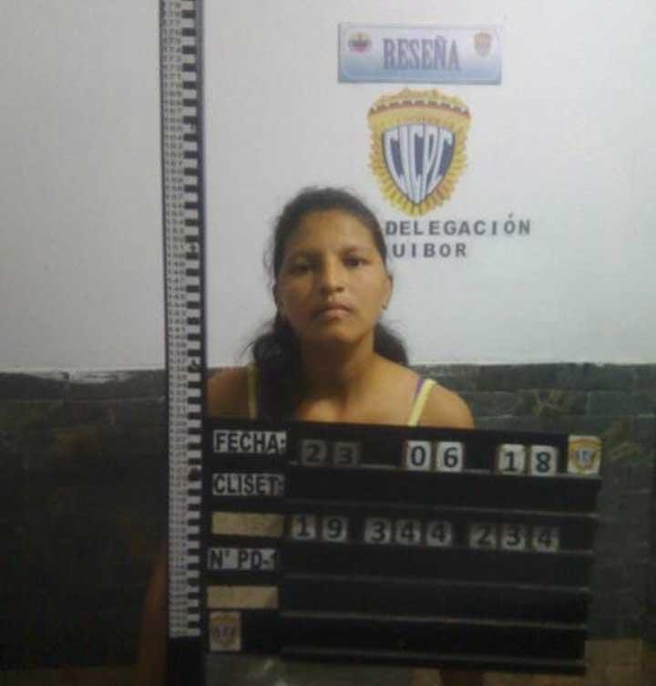 Lilian del Carmen Valera Mendoza de 32 años. Intento asesinar a su bebe recién nacida.