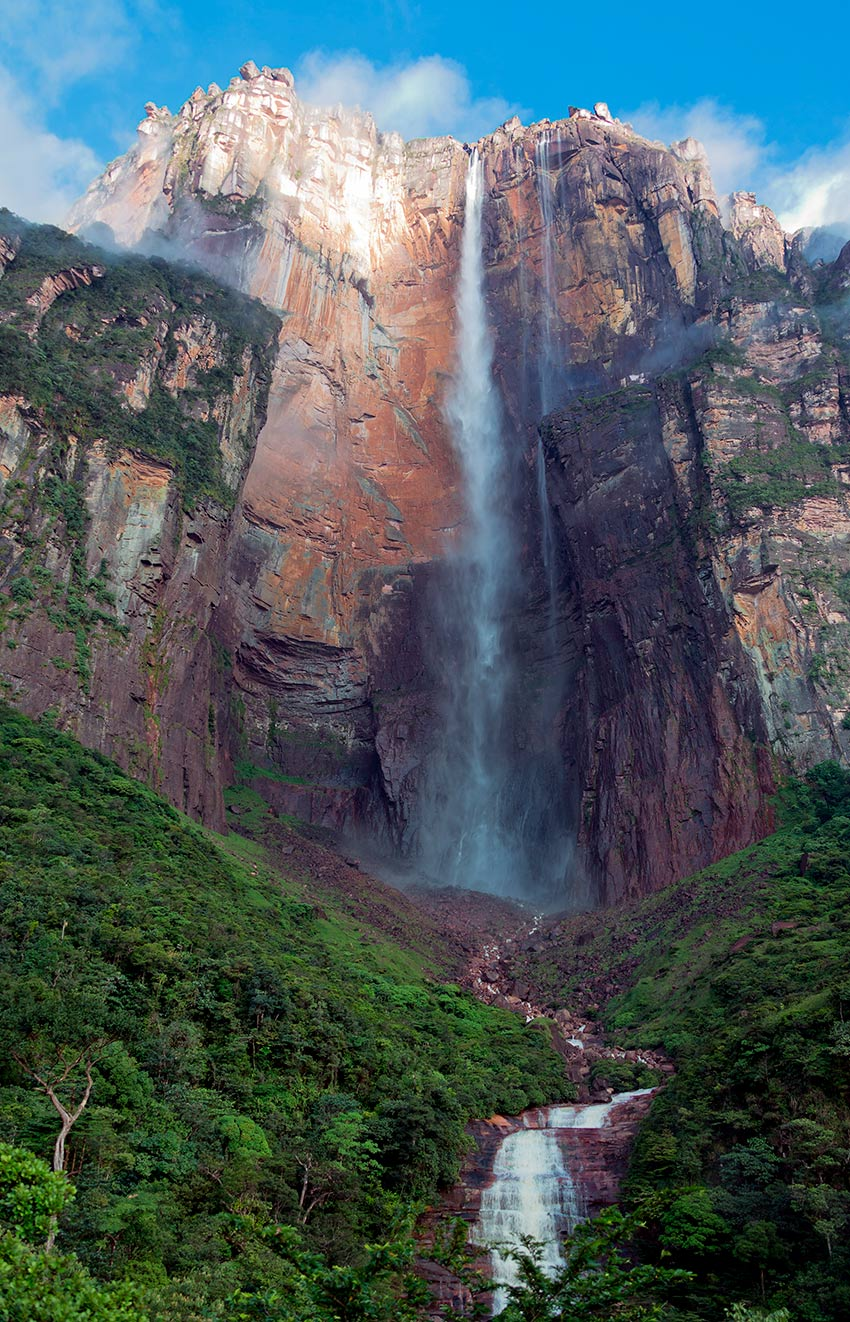 las cataratas mas imponentes del mundo