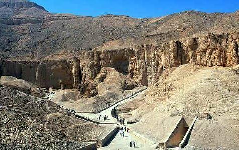 Allí reposan muchas historia de Egipto