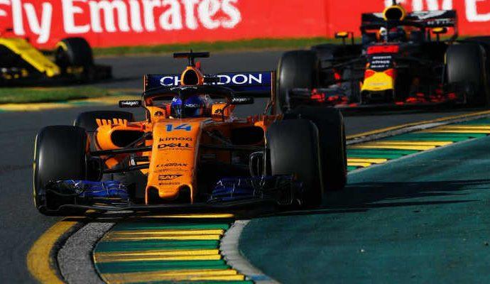 El gran beneficiado de lo ocurrido en la salida fue Sebastian Vettel