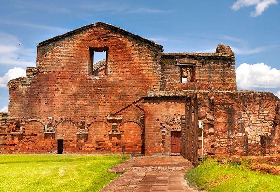 En Paraguay fueron 8 misiones Jesuitas