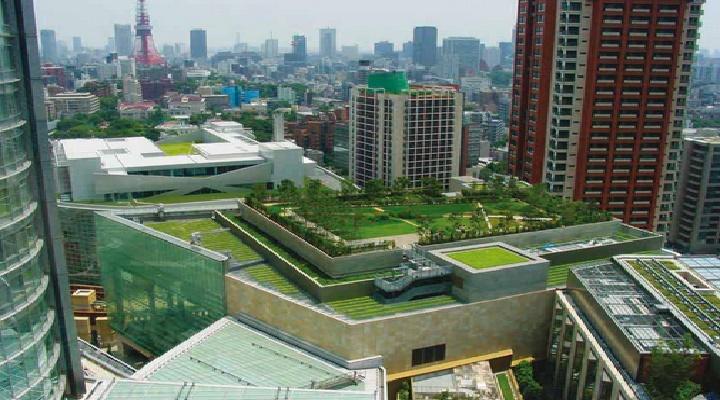 aislando termicamente los techos de edificios