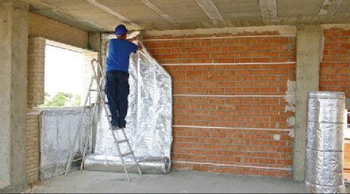 metodos y materiales para el aislamiento termico de paredes