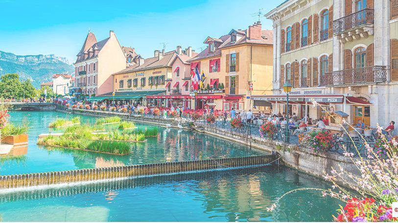 Annecy, lugar de encantos y ensueños
