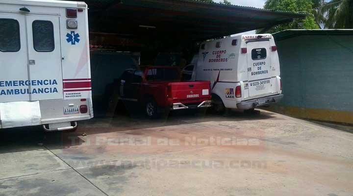 Desde el año pasado las ambulancias están inoperativas. en el municipio Infante, Guárico