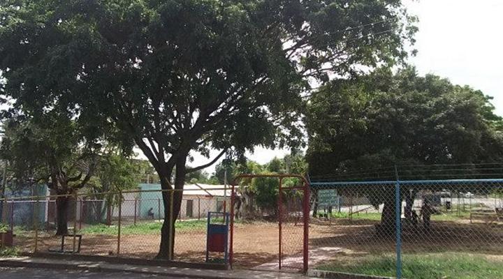 """Parque Municipal """"Don Vicente Sánchez Chacín"""", conocido como el parquesito de Guamachal."""