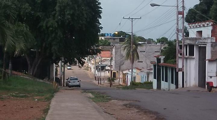 Calle Los Tulipanes de Valle de la Pascua.