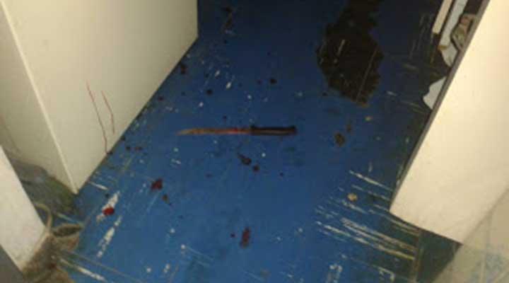 El joven utilizó un cuchillo para asesinar a su madre y abuela.