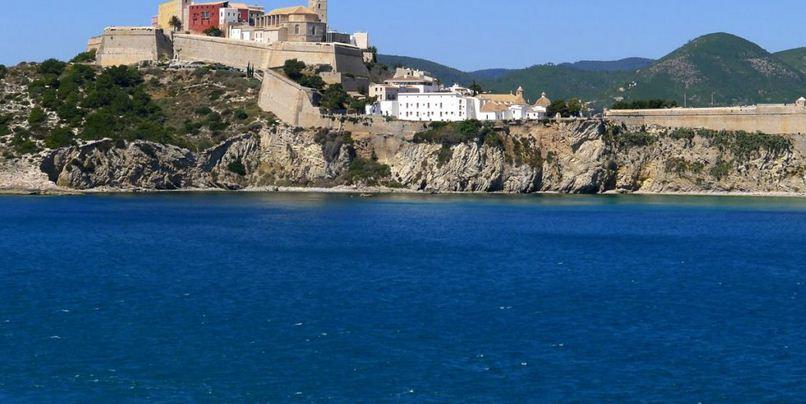 descanso en Ibiza