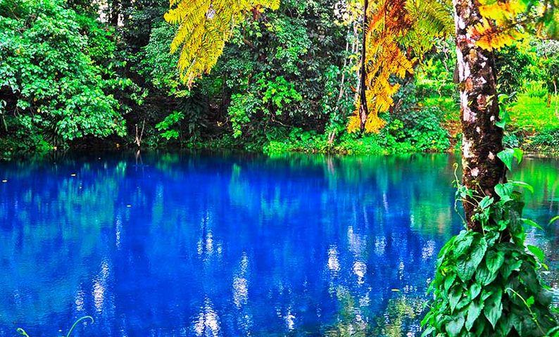 El agujero Azul Nanda