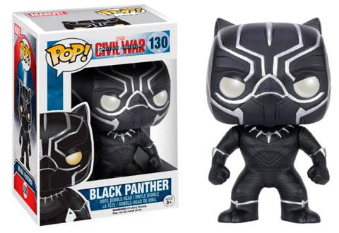 El Funko de Black Panther rey de Wakanda y miembro de los Vengadores
