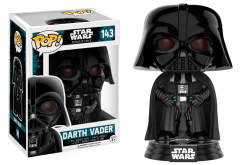 El Funko de Darth Vader, ex miembro de la orden jedi y actual jefe de la Armada Imperial.