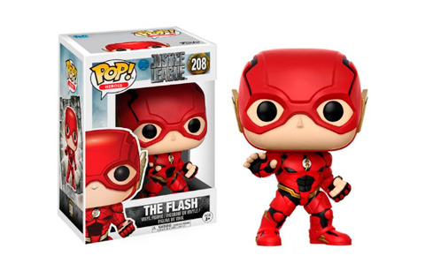 El Funko del Flash de Justice League de DC Comics