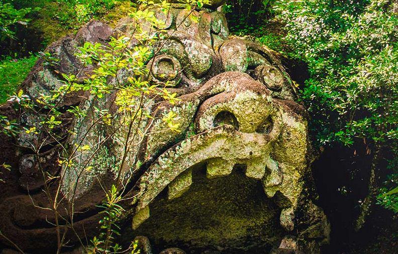 Admira el dise o art stico de los jardines m s bellos del for Jardines de bomarzo