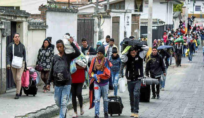 Las autoridades no descartan cerrar temporalmente la frontera