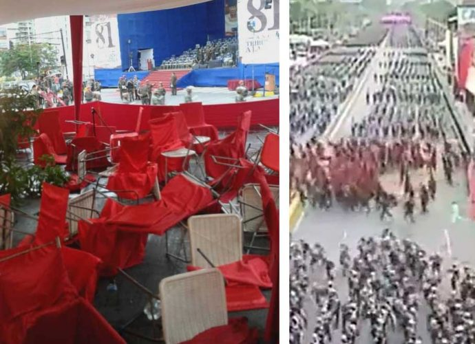 Panico entre los oficialistas rojos fieles a Maduro