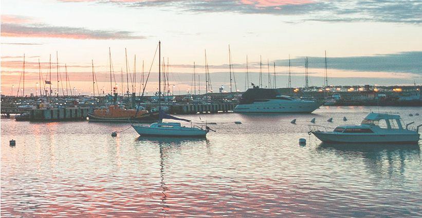 el placer que brinda el mar en Uruguay