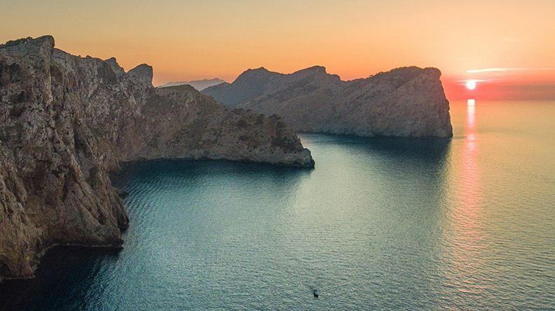 Bahia de Alcudia en Mallorca, cuarto fin de semana de Agosto