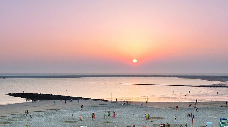 Playas únicas en un lugar llamado Frisias